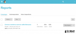 Como hacer email marketing gratis con MailChimp 11