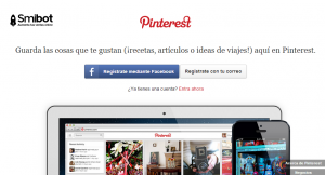 Como crear un perfil en Pinterest 1