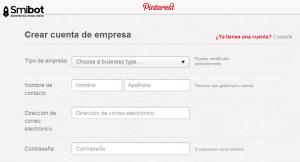Como crear un perfil en Pinterest 5