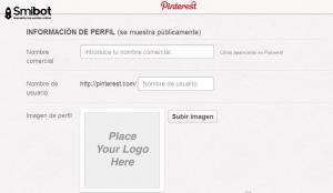 Como crear un perfil en Pinterest 6