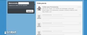 Como crear un perfil en Twitter 3