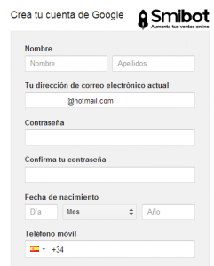 Como crear una cuenta de Adwords