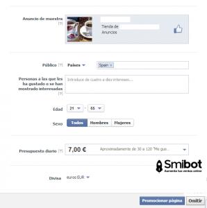 Como personalizar una página en Facebook