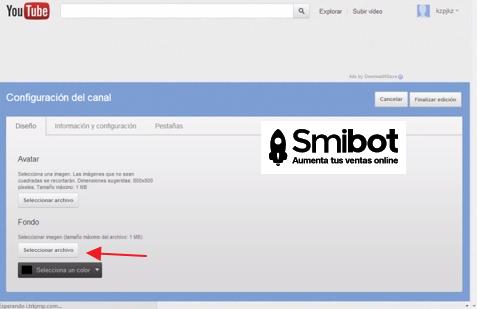Cómo personalizar el canal de YouTube 10