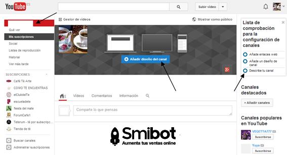 Cómo personalizar el canal de YouTube 3