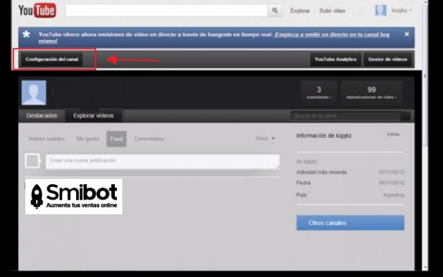 Cómo personalizar el canal de YouTube 9