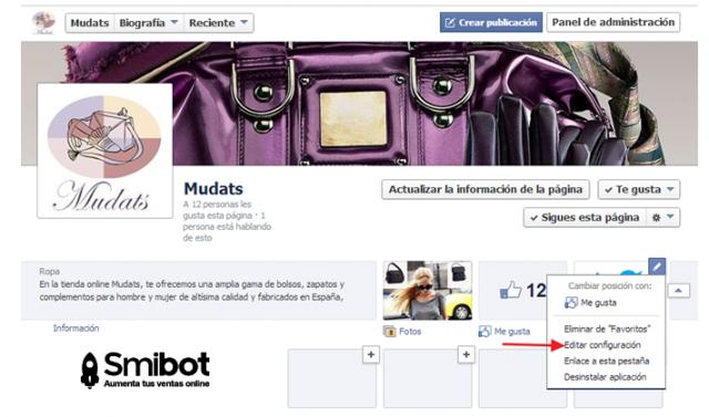 Cómo puedo personalizar mi página de Facebook 11