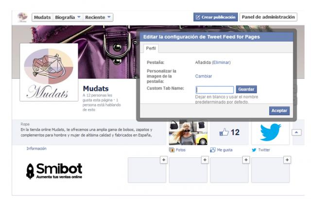 Cómo puedo personalizar mi página de Facebook 12