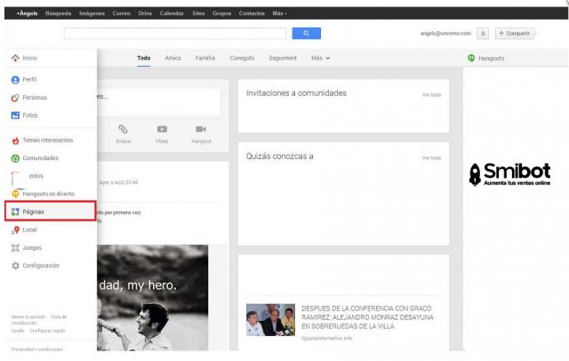 Como crear un perfil de empresa en Google Plus 6