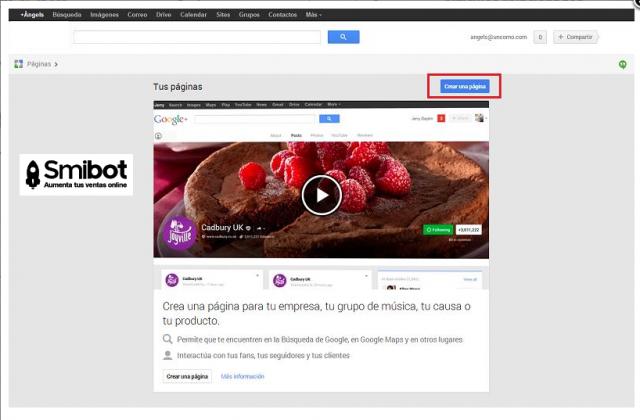 Como crear un perfil de empresa en Google Plus 7