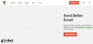 Como crear una cuenta en MailChimp 1