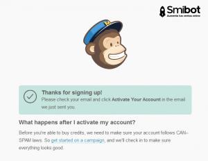 Como crear una cuenta en MailChimp 3