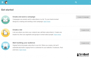 Como hacer email marketing gratis con MailChimp 2