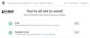 Como hacer email marketing gratis con MailChimp 9