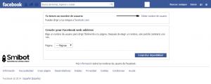 Como cambiar la URL de página de Facebook