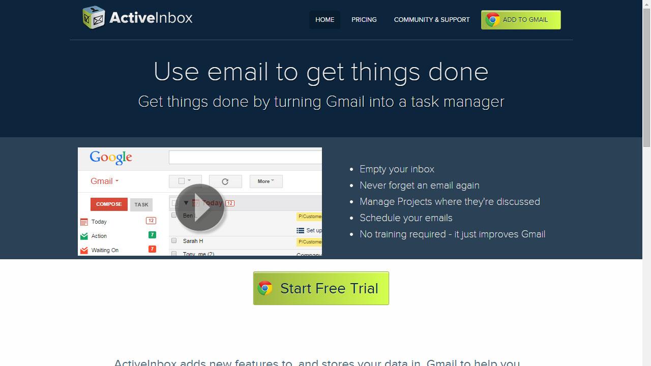 Como organizar Gmail con ActiveInbox