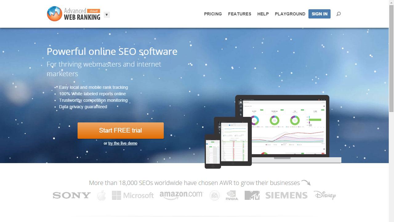 Como monitorizar posicionamiento con Advanced Web Ranking