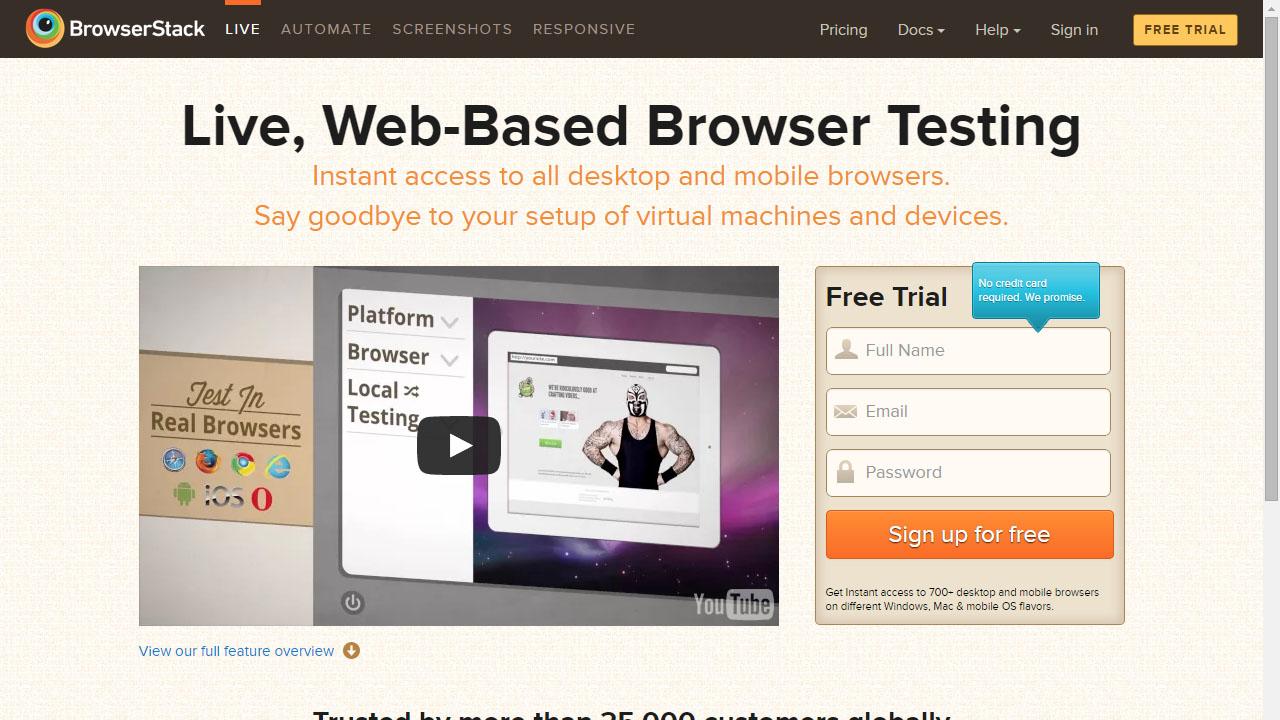 Como probar tu web desde cualquier navegador con BrowserStack