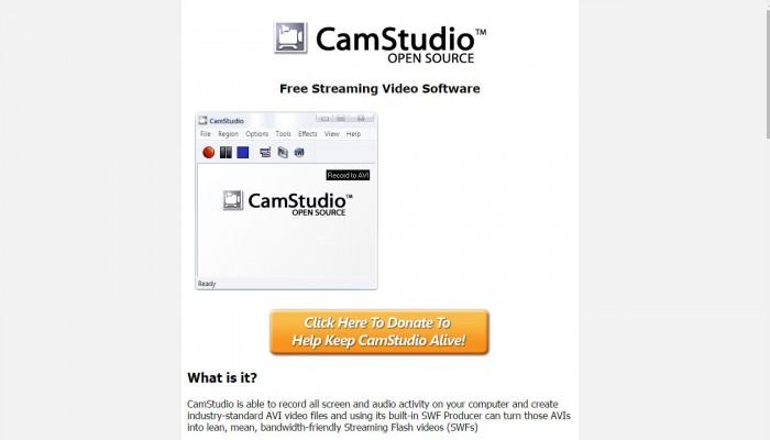 Como crear tutoriales con CamStudio