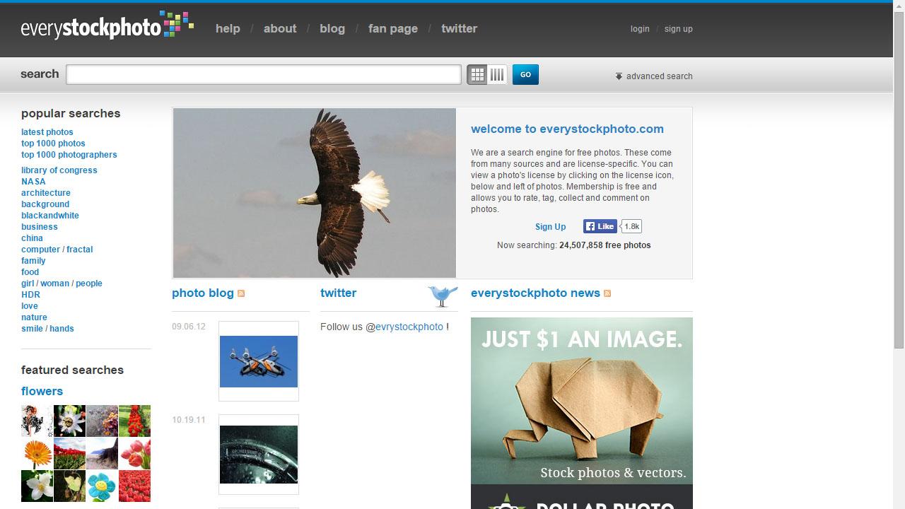 Como descargar imágenes sin copyright con estas páginas web