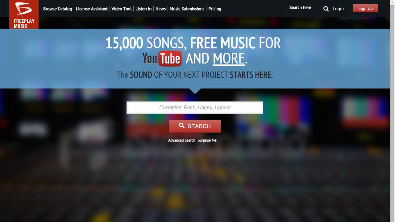 Como descargar música sin copyright con Freeplay Music