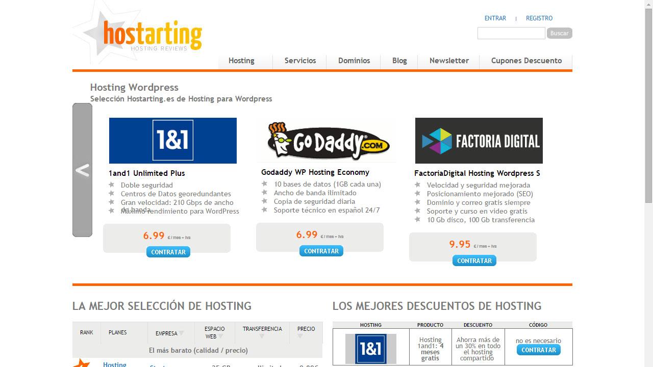 Como elegir un hosting con Hostarting