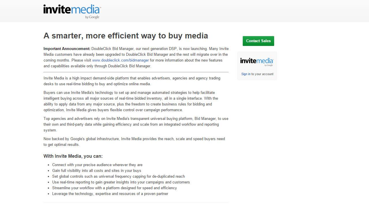 Como hacer marketing online con Invite Media
