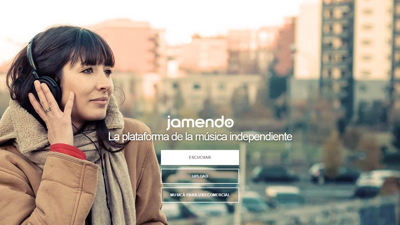Como descargar música sin copyright con Jamendo