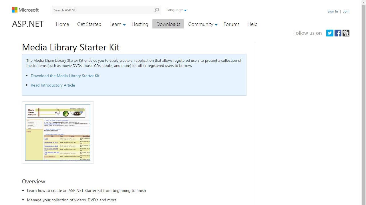 Como crear aplicaciones multimedia con Media Share Library Starter Kit