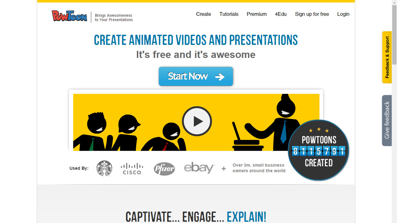 Como crear video con PowToon