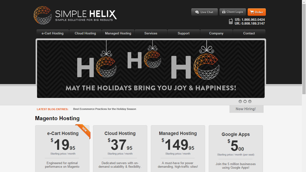 Como alojar tu web con Simple Helix
