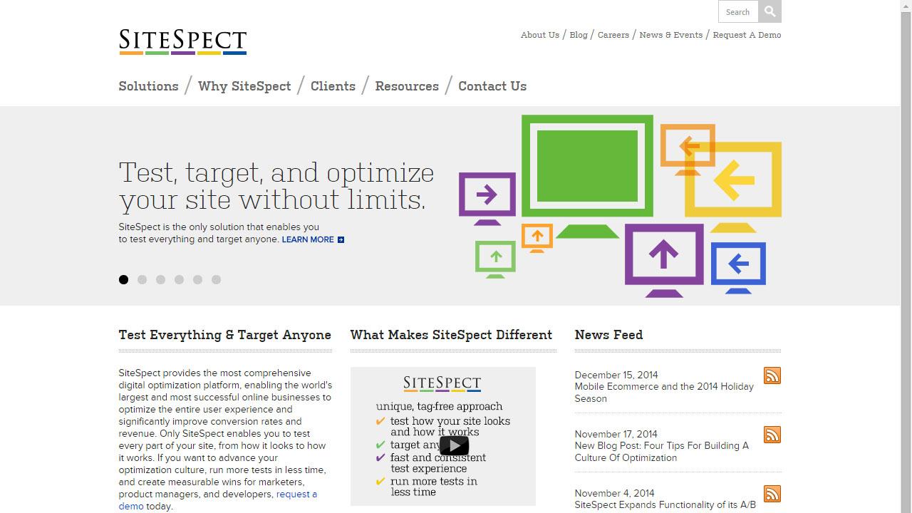 Como optimizar tu web con SiteSpect