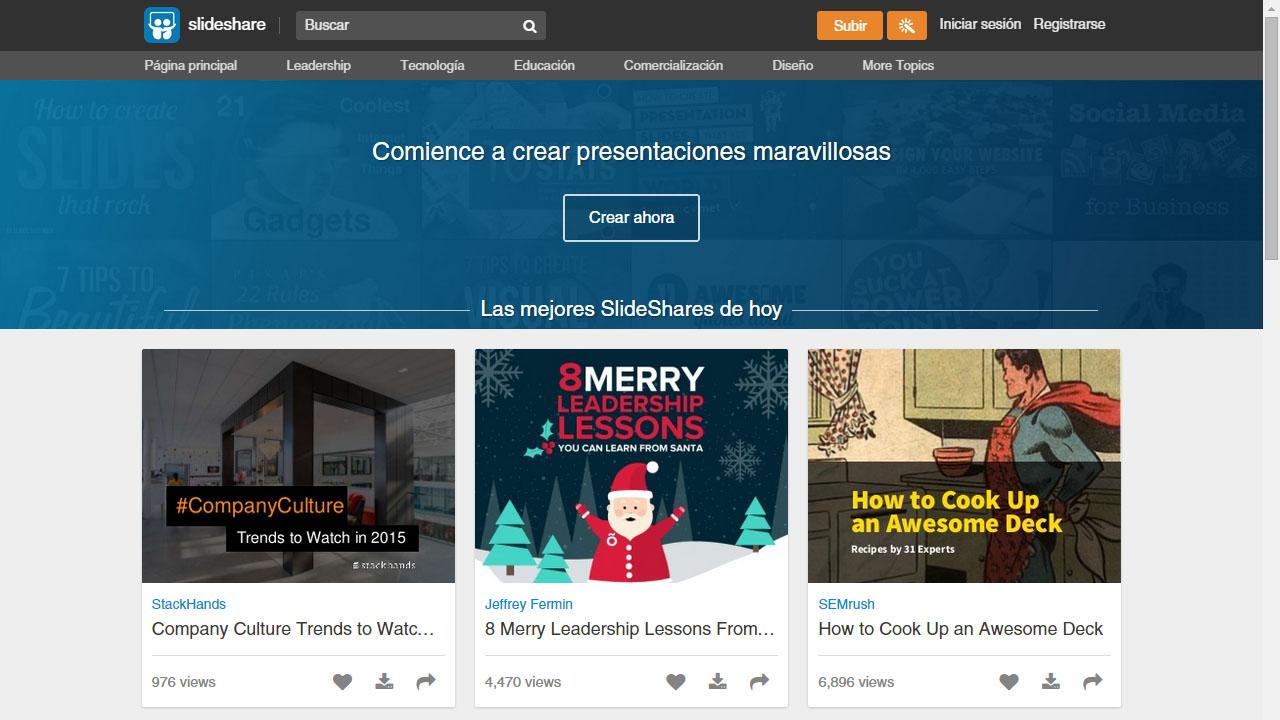 Como hacer presentaciones online con SlideShare