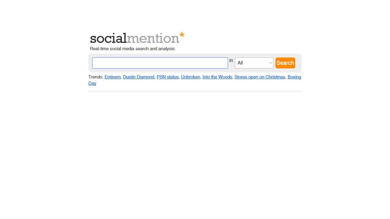 No te pierdas lo que dicen las redes de tu tienda online con SocialMention