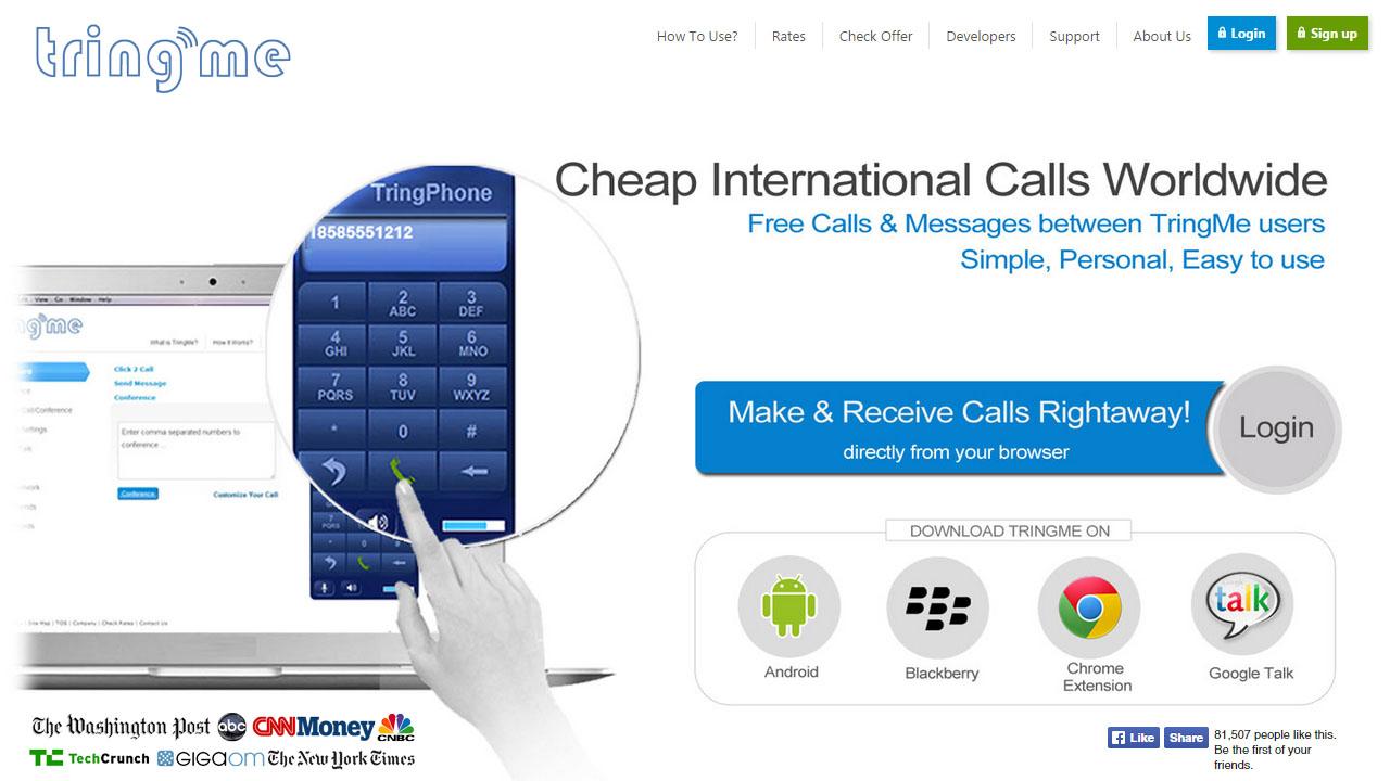Como hacer llamadas VoIP con TringMe