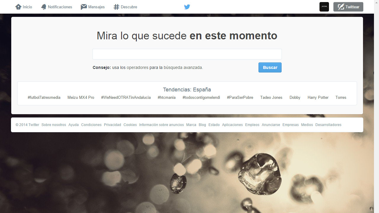 Como monitorizar nuestra influencia con Twitter Search