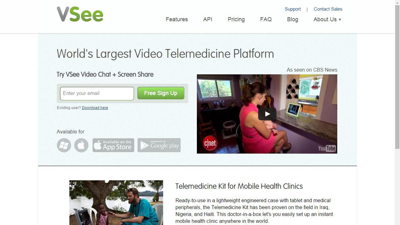 Como hacer videollamadas grupales con VSee