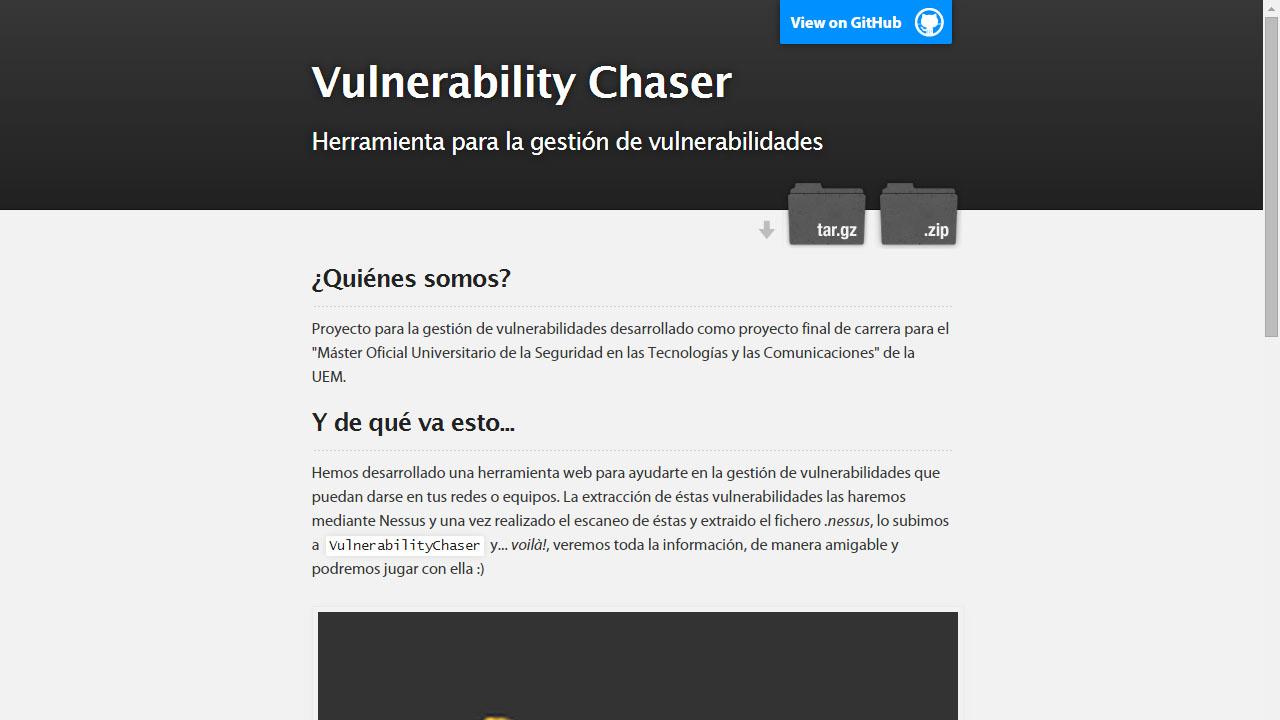 Vulnerability Chaser