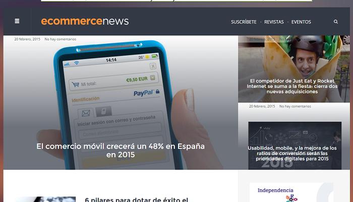 Informate de la actualidad en comercio electrónico con ecommerce-news.es