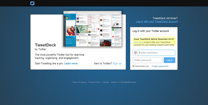TweetDeck, para conocer el alcance de tus tweets