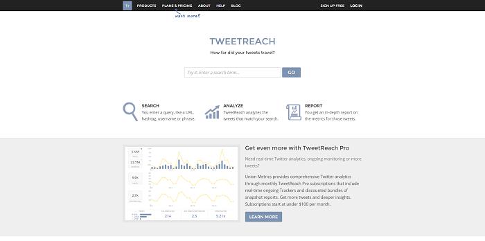 ¿Cuál es el alcance de tus tweets? Averígualo en Tweetreach